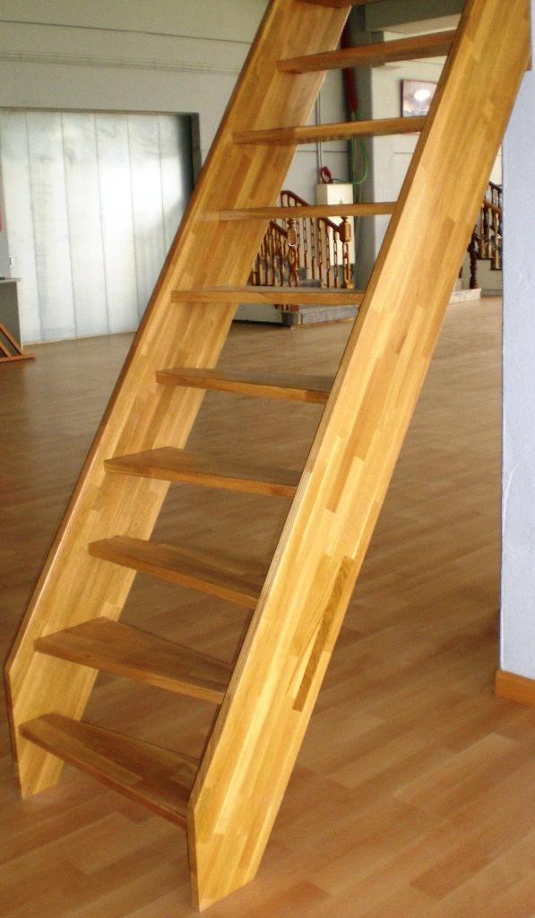 Mini triangular sociescadas escadas direitas for Escaleras de madera con descanso